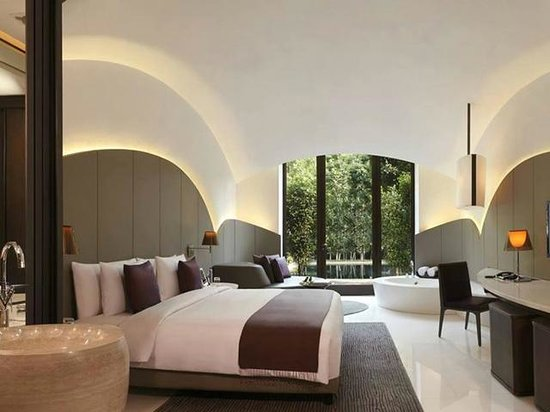 The Roseate New Delhi: My Premium Pool View Room