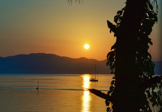 Sensimar Marmaris Imperial: Sunset from the bar