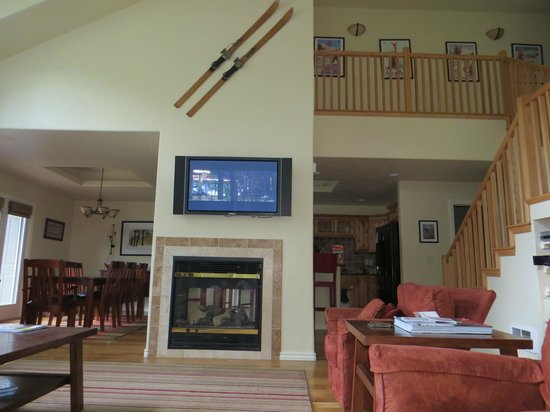 Grand Targhee Vacation Rentals: View from the living room couch