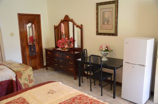 Blair's Palm View Resort : Refrigerator in King room