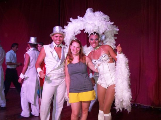Allegro Papagayo: me with Cristopher and Marilyn