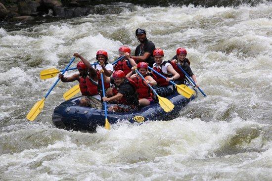 Big Creek Expeditions: Having fun with Benji