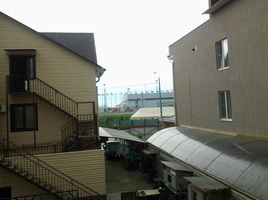 Galla Hotel: Вид с балкона