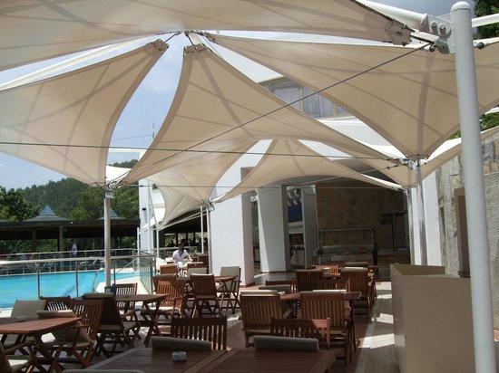 Hapimag Resort Sea Garden : Breakfast/lunch area