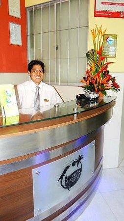 Delfin Amazonico Suites: Recepción del Hotel