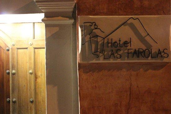 Hotel Las Farolas: Fachada