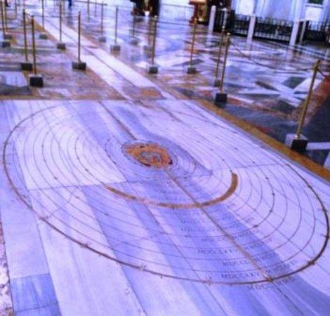 Basilica di Santa Maria degli Angeli e dei Martiri: il pavimento meridiana