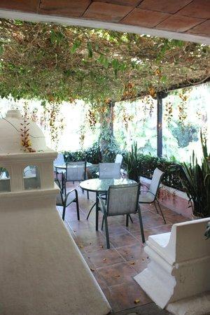 Hotel Las Farolas: Área de estar, primeiro andar