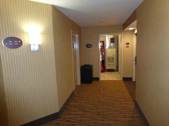 Sleep Inn Nashville Airport: Hallways
