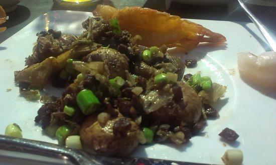 Na Jia Restaurant (Yong'anli): mushrooms