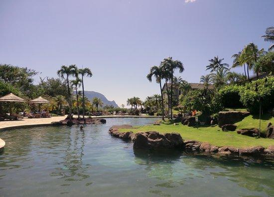 Hanalei Bay Resort: upper pool