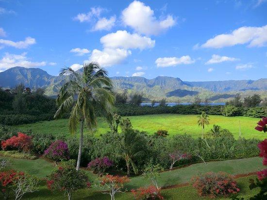 Hanalei Bay Resort: Plumeria 8232 lanai view