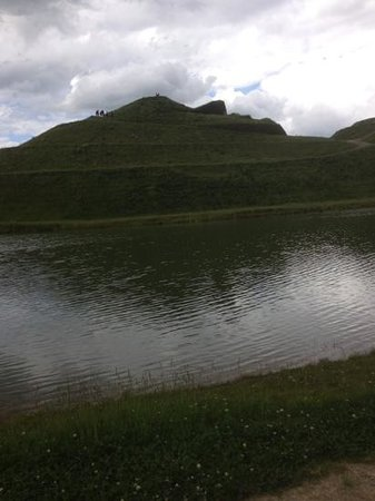 Northumberlandia: lower level