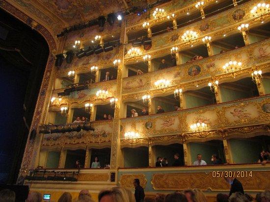 Teatro La Fenice : The boxes...