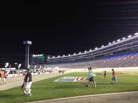 Texas Motor Speedway: Down on the infield after the Indy race