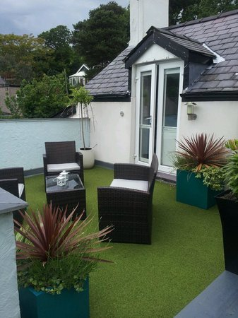 Beech Bank Bed & Breakfast: Roof balcony with spectacular views