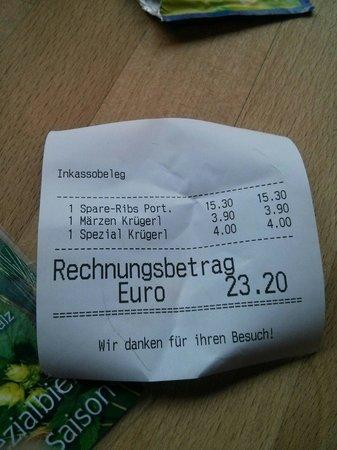 Salm Bräu: Esta fue la cuenta