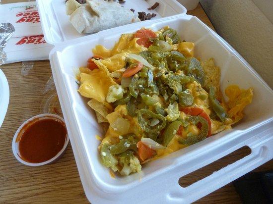 King Taco: Sauce rouge très (trop?) épicée!