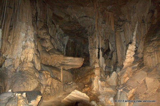 Crystal Cave chamber 180 meters underground