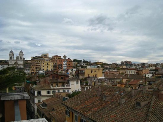 Portrait Roma: View from rooftop terrace