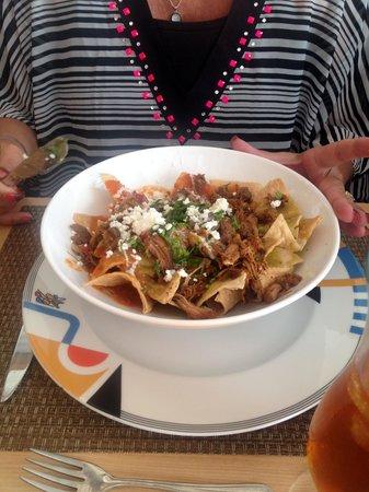 Live Aqua Beach Resort Cancun: Chilaquiles!