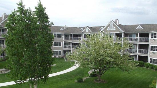 Bridgeport Resort: facing the unit