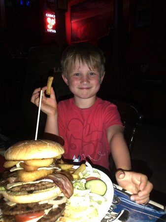 Delaney's Bar And Diner : MD with empire state burger