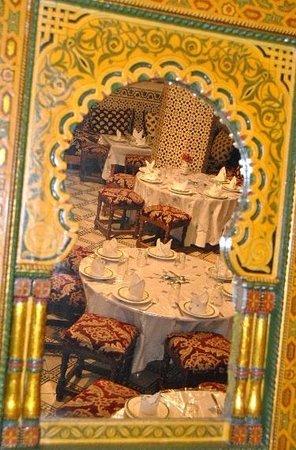 Restaurant Palais Tijani : Patio