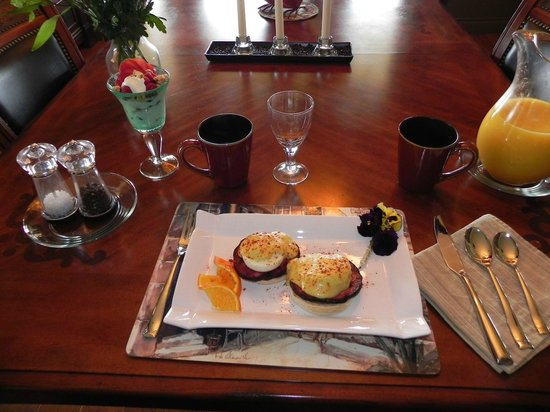 Country Ridge Bed and Breakfast: Breakfast
