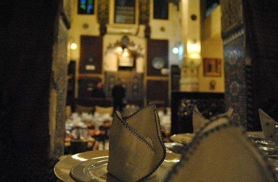 Restaurant Palais Tijani : Salon 2