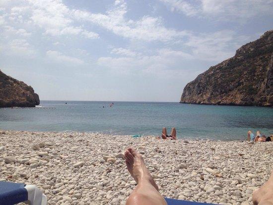 Playa La Granadella: La playa más bonita del mundo, tranquilidad absoluta y un paisaje que te desconecta del mundanal