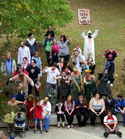 Big Spring Park: Annual Zombie walk