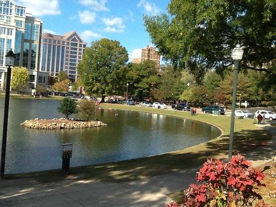 Big Spring Park view