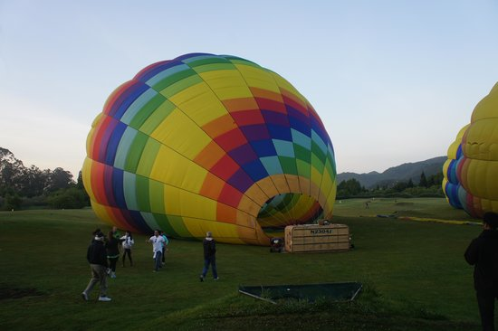 Napa Valley Balloons, Inc. : Launching..