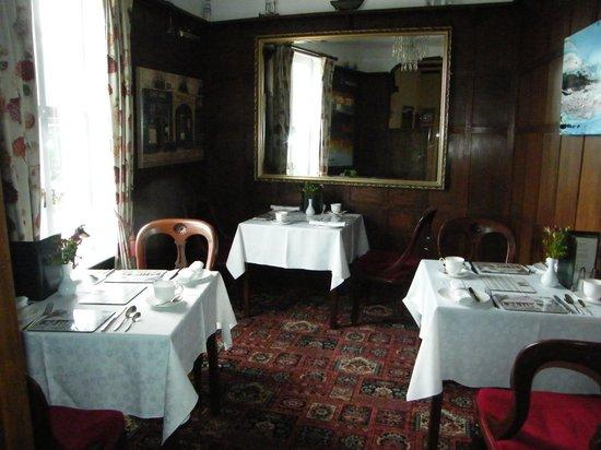 The Minadab Cottage: Breakfast Room