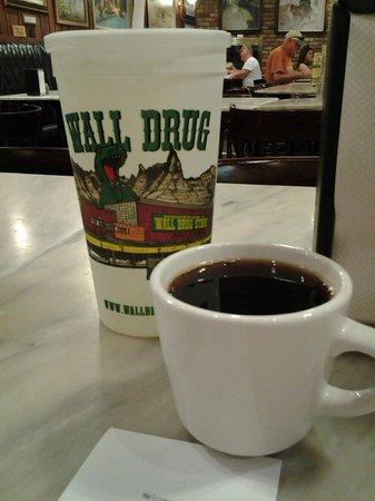 Wall Drug : BEST 5cent coffee around!