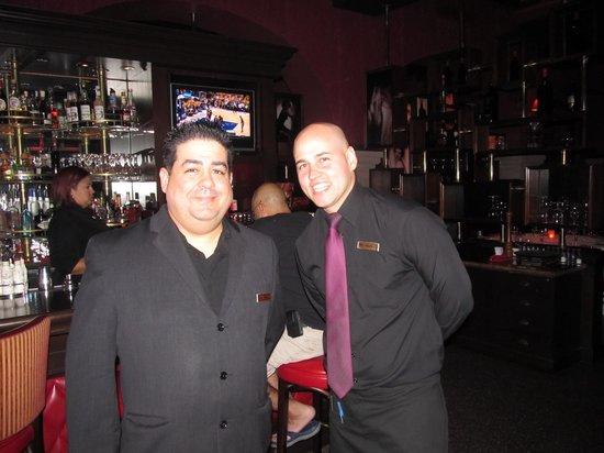 Chops Steakhouse: Chops- Our Captain-Jorge and Server-Eliezer!
