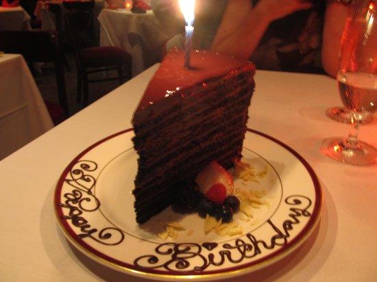 Chops Steakhouse: Chops Chocolate Ganache Cake Dessert