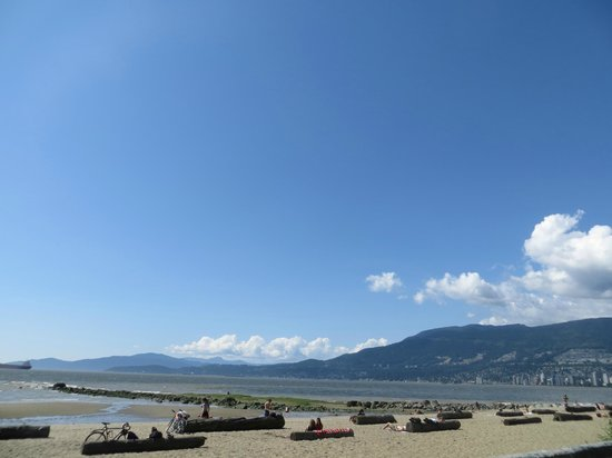 Stanley Park : Beach