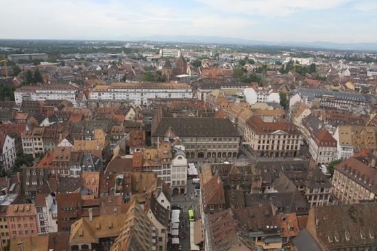 Liebfrauenmünster zu Straßburg (Cathédrale Notre-Dame de Strasbourg): vistas desde la catedral