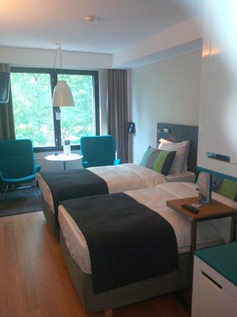 Radisson Blu Hotel, Espoo: Inside Double room