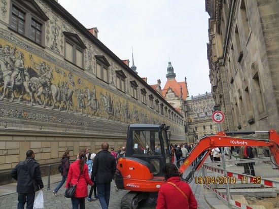 Fürstenzug: de er godt besøgt, disse gader