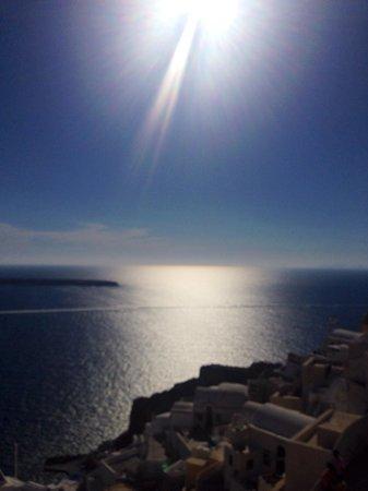 Nissia Apartments: Amazing sun