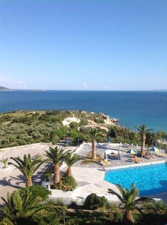 Princessa Riviera Resort: underbar utsikt från vår balkong