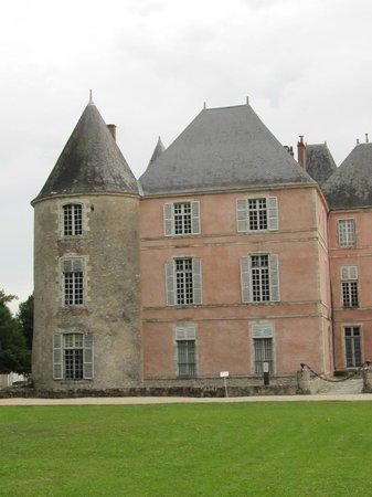 Château de Meung sur Loire : façade du XVIII è siècle
