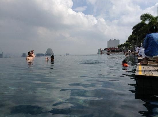 infinity pool MBS Picture of Marina Bay Sands Singapore TripAdvisor