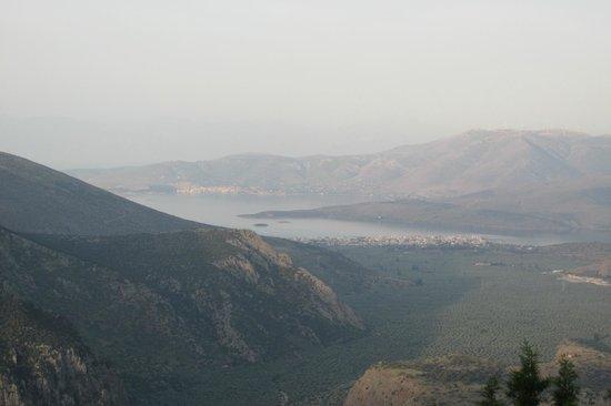Delphi Palace: View