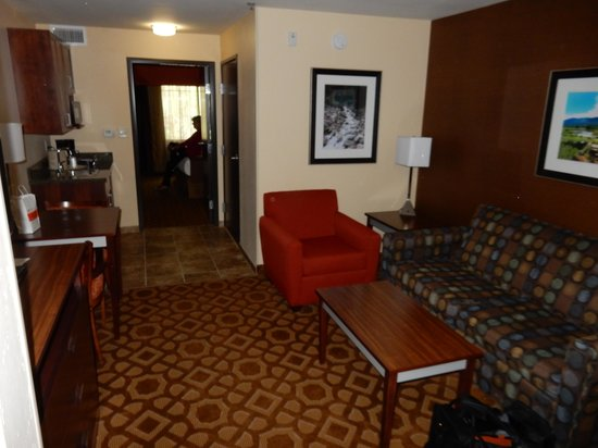 Holiday Inn Hotel & Suites Durango Central: Kind size room