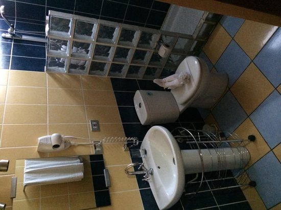 Hotel Los Arcos: Bathroom