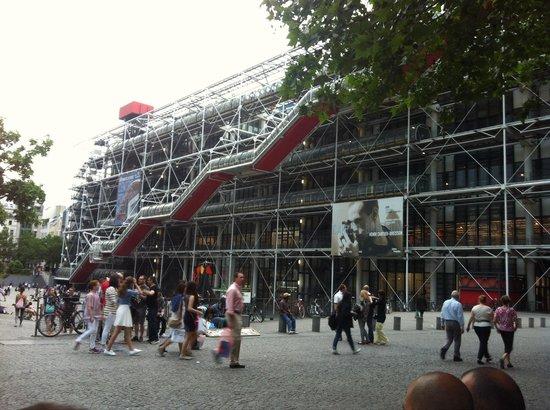 Cafe Beaubourg : Vista Agradavel